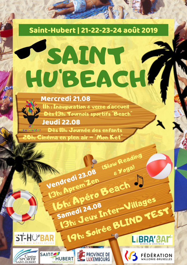 MJ Saint-Hubert - Affiche Saint Hu'BEACH.png